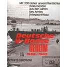 German U-Boats SECRET 1935-1945