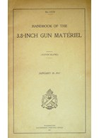Handbook of the 3.8-Inch Gun Matériel - January 1917