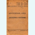 Antyennas and Antenna Systems TM 11-314