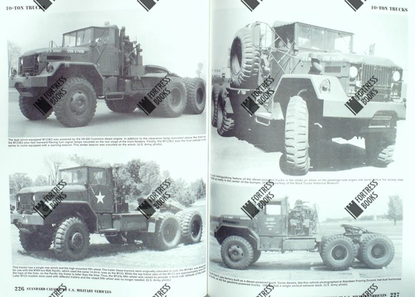 Fortress Books Standard Catalog Of Us Military Vehicles